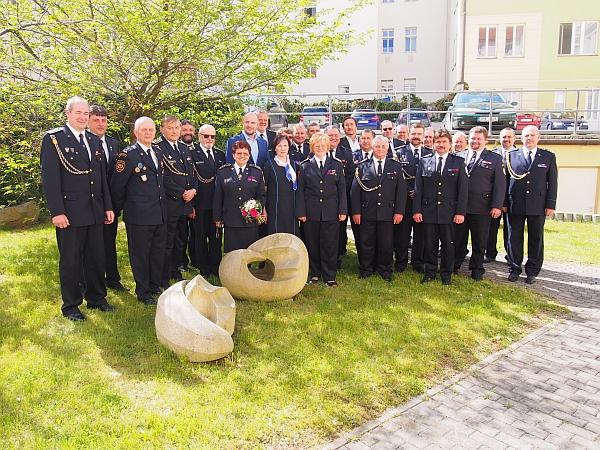 Hejtman Plzeňského kraje ocenil dobrovolné hasiče 2017