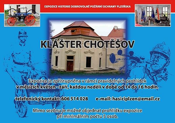Expozice historie dobrovolné požární ochrany Plzeňska - klášter Chotěšov