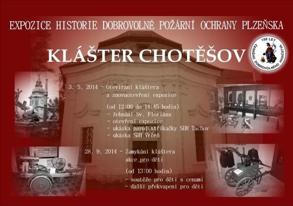 Pozvánka na zamykání kláštera - 28.9.2014