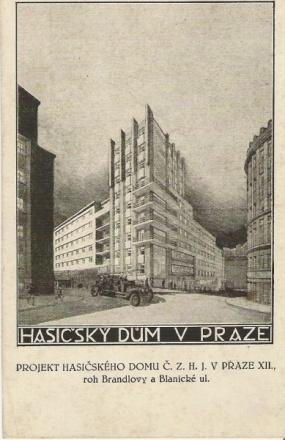 Hasičský dům Praha